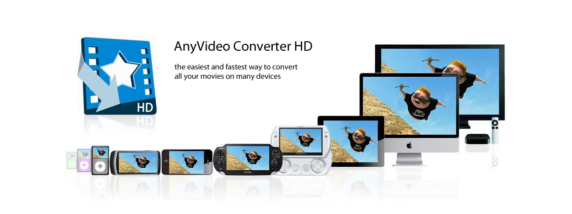 AnyVideo Converter HD - The easiest and fastest way to convert all your videos in many devices
